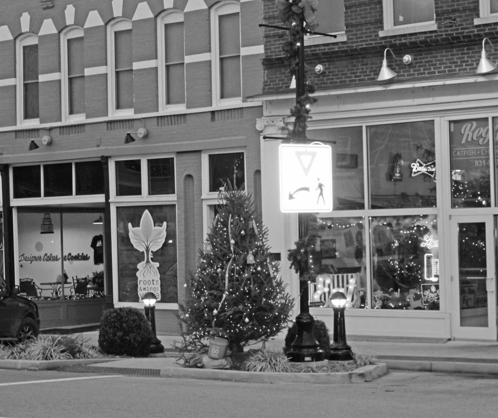 Christmas Decorations - Decorated Store Fronts Galore