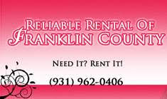 Reliable Rental - Lead Sponsor