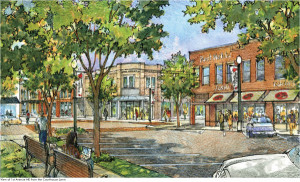 Winchester Downtown Renovation First Avenue View